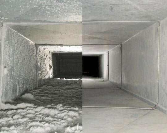 Sems Duct Cleaning Toronto GTA home page how we work before and after