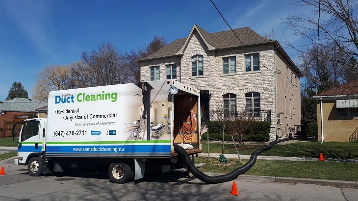 Toronto air duct cleaning service in GTA - Best HVAC 2021