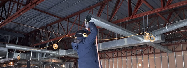 Toronto Industrial Commercial Air Duct Cleaning - Sick Building Syndrome in GTA